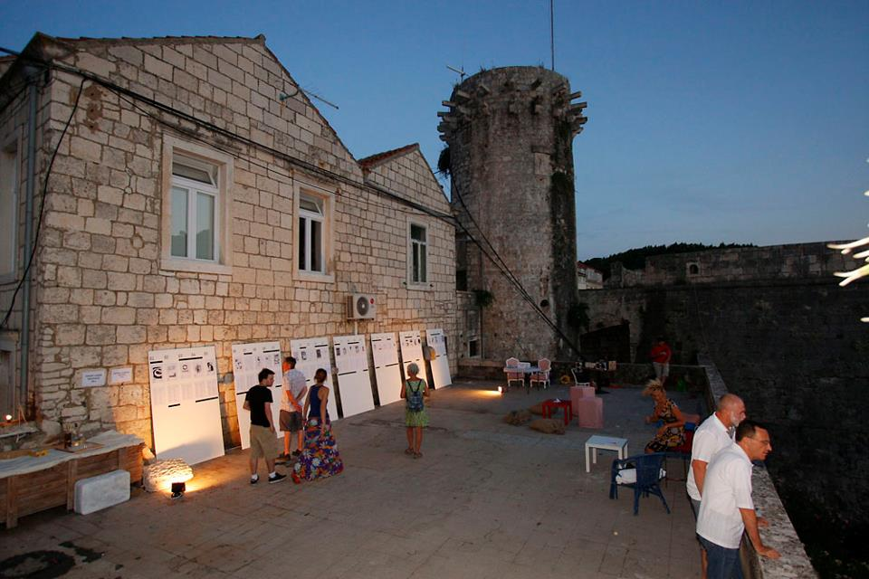 Poetry evening and Korcula