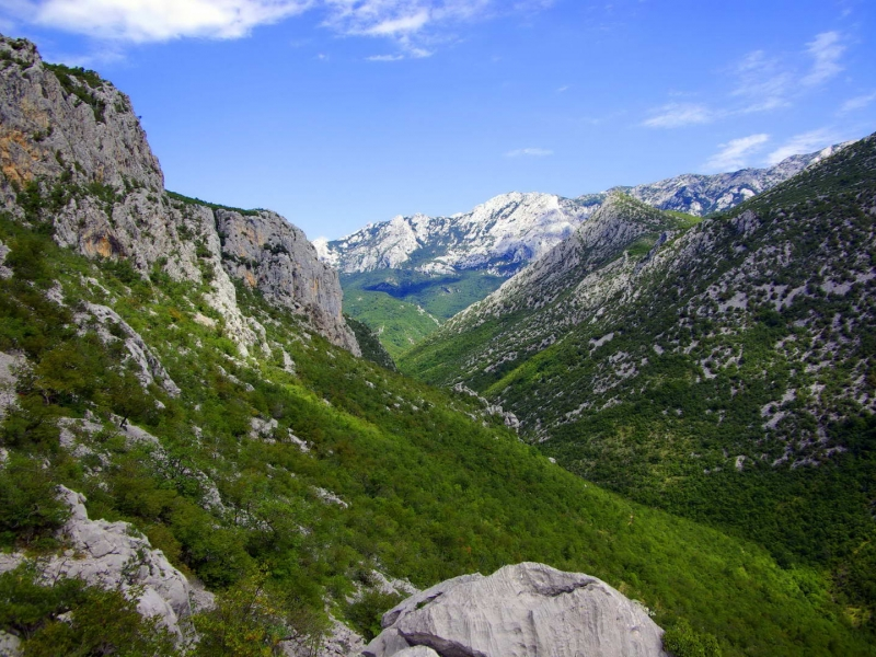 Hiking to Paklenica National Park