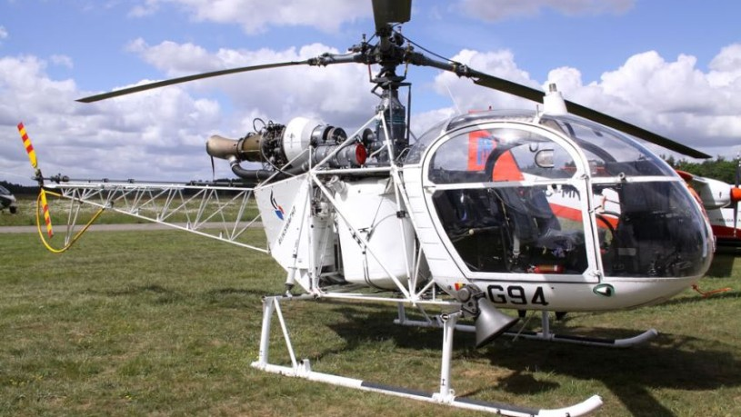 Alouette II helikopter