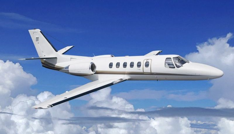 Cessna Citation Bravo flight