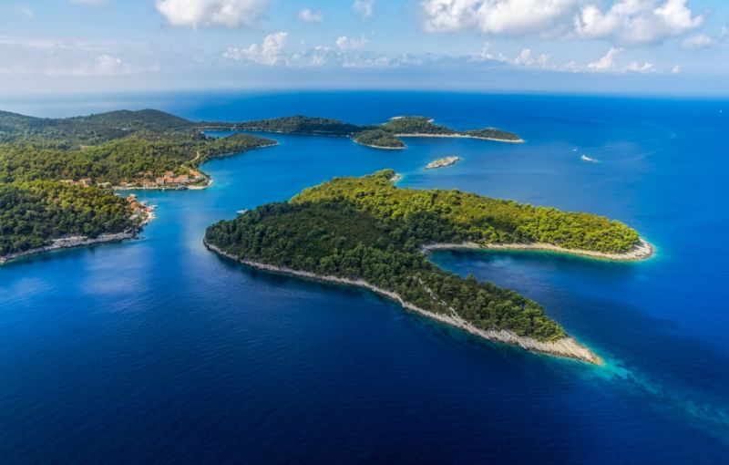 NP Mljet from the air