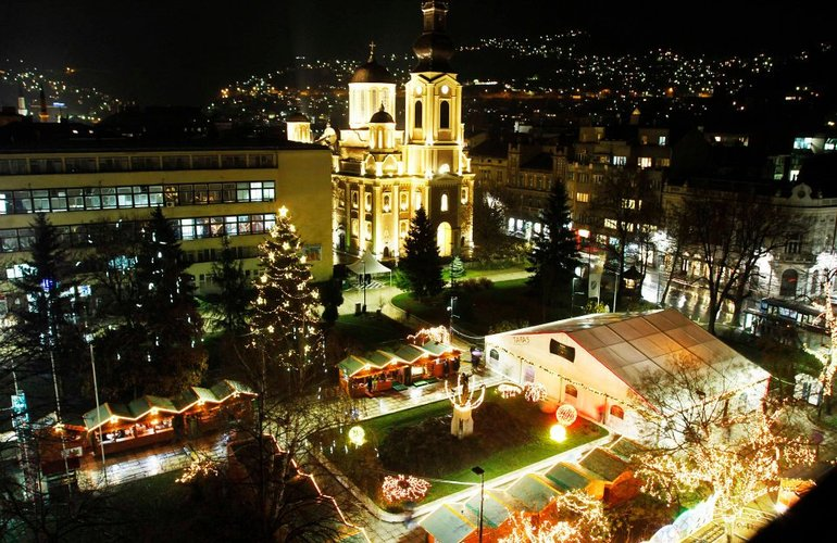 Nova godina 2019 u Sarajevu