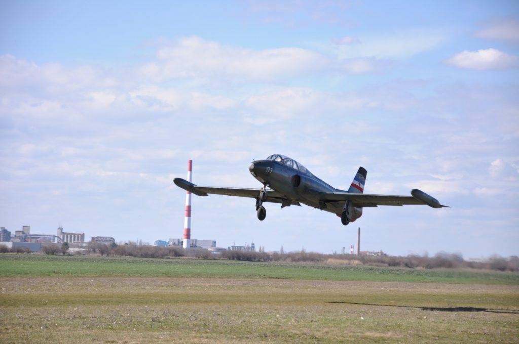 Flight with Galeb G2