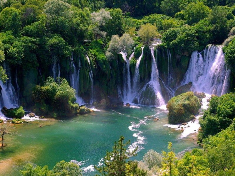 Kravice Waterfalls and Mostar
